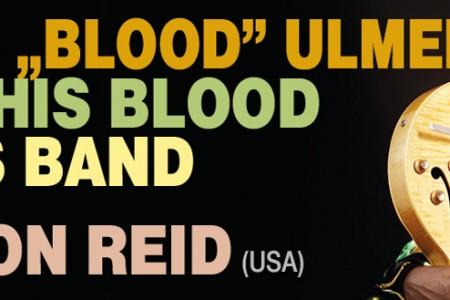 "Star of SBF 2015: JAMES ""BLOOD"" ULMER MEMPHIS BLOOD BLUES BAND feat. VERNON REID (USA)"