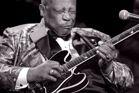 The Blues King passed away! B.B. King was 89 years old.