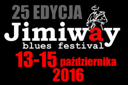 The forthcoming 25th edition of Jimiway Blues Festival 2016 in Ostrów Wielkopolski