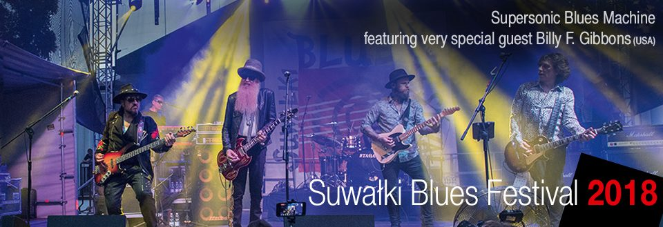 Supersonic Blues Machine featuring very special guest Billy F. Gibbons 2018