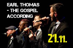Energiczny EARL THOMAS w projekcie gospel powraca do Suwałk – 21 listopada w SOK!