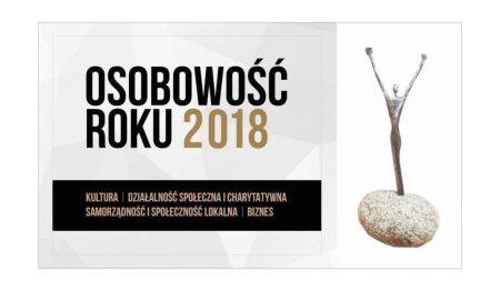 Bogdan Topolski nominowany do nagrody Osobowość Roku 2018. Głosowanie trwa.