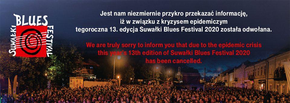 Suwałki Blues Festival 2020 odwołany